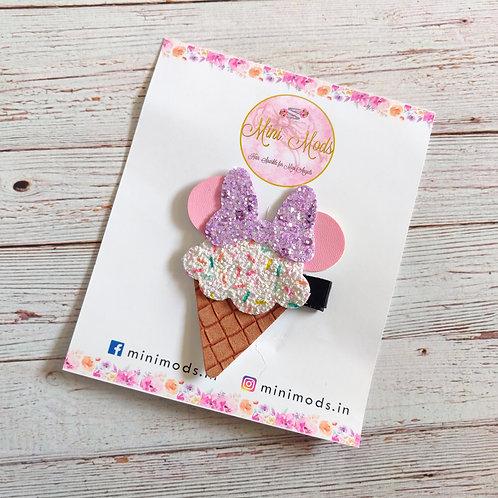 Ice cream hairclip