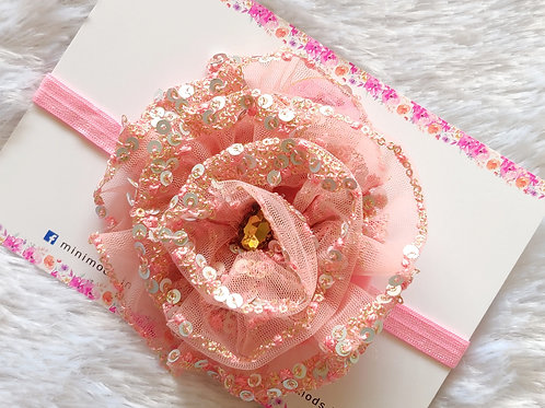 Fulwari Headband - Baby Pink