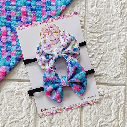 Pretty Little Mermaid Headband Set