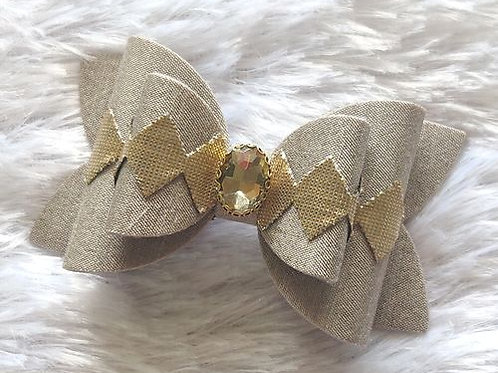 Diamond Bow Clip