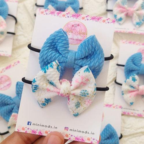 Snowflake Hairtie Set