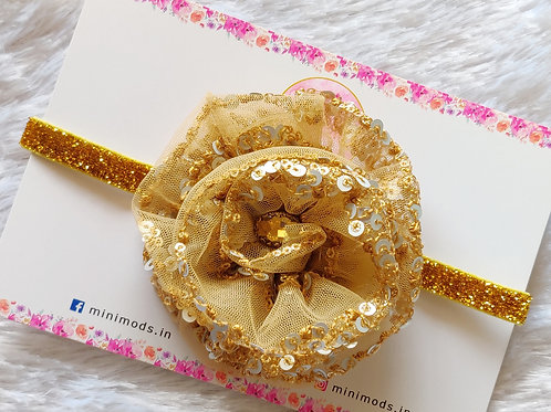Fulwari Headband - Beige Gold