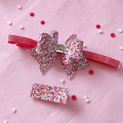Splash of Love Bow Headband