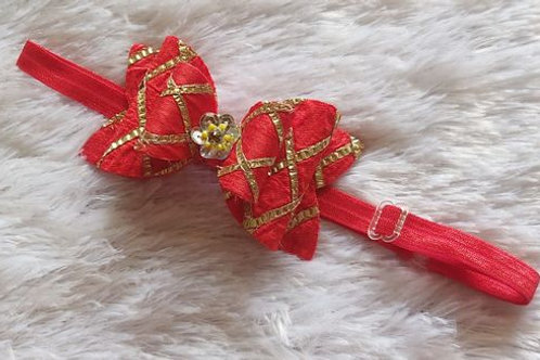 Gota Passion Bow Headband