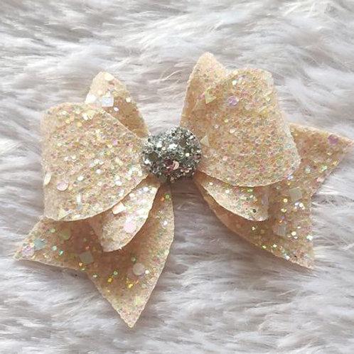 Princess Sparkle Bow Clip