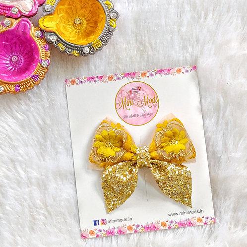 Idika Bow in Yellow