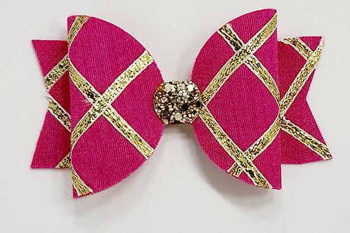 Gota Bow - Hot Pink