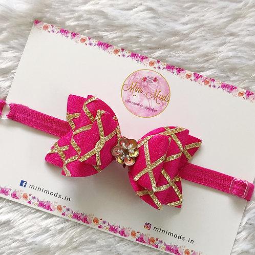 Gota Passion Bow - Pink