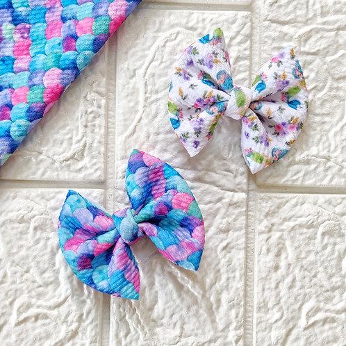 Pretty Little Mermaid Bow Set