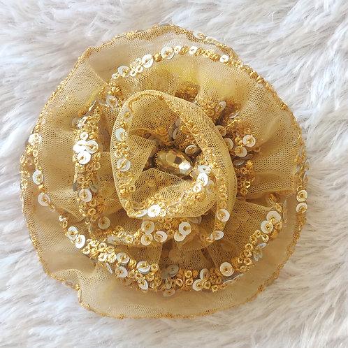 Fulwari Hair Clips - Beige Gold