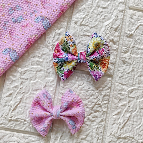 Floral Butterfly Bow Set
