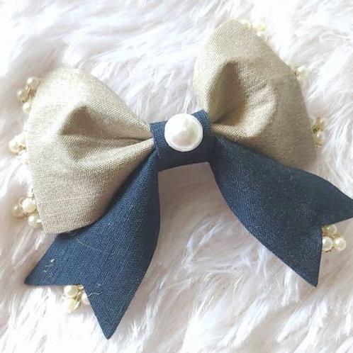 Pearl Beauty Bow Clip