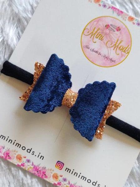 Velvet Glitter Headband