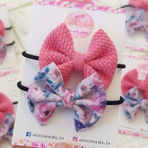 Rose Hairtie Set
