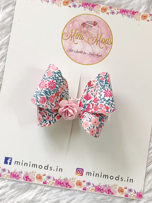 Rose Butterfly Bow