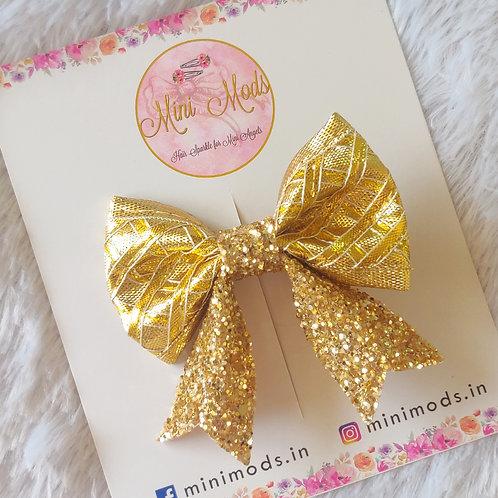 Evergreen Gota Bow -Gold