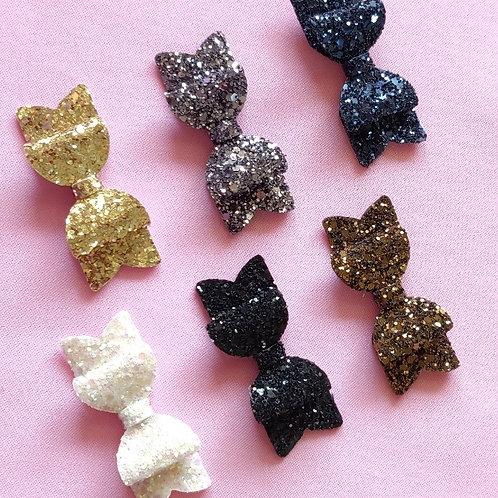 Glitter Fairy Bow Combo Set -Monochrome