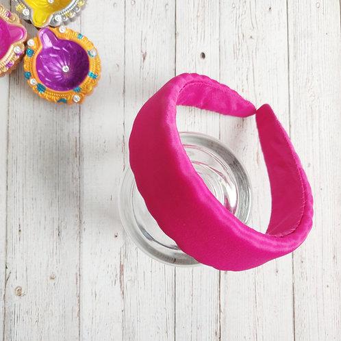 Nyra Hot Pink Padded Hairband