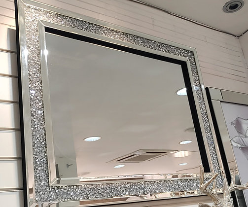 Crushed Diamond Mirror