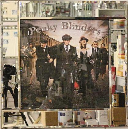 Mirrored Frame Peaky Blinders