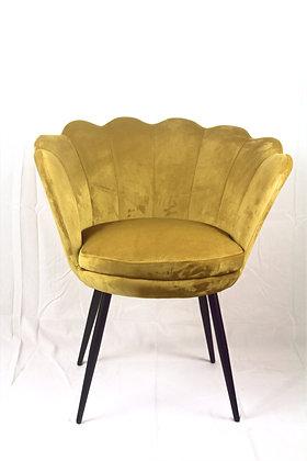 Shell Designed Mustard Chair