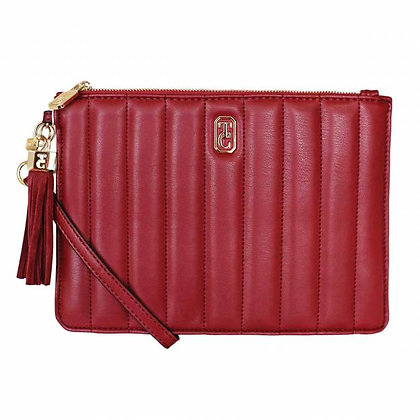 The Soiree Hand Pouch Burgundy