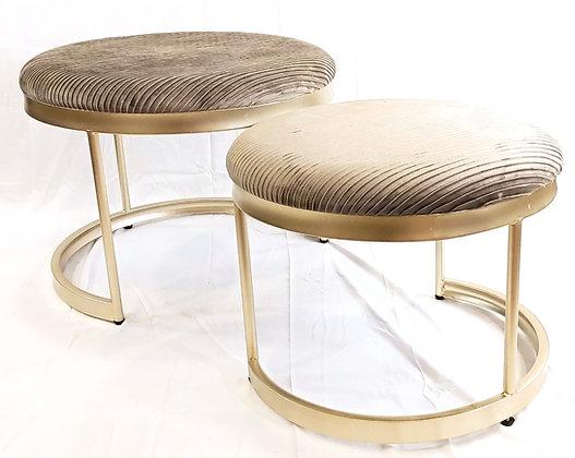 Nest of Tables (Velvet Top)Set