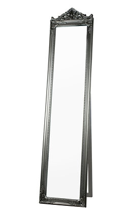 Silver Standing Mirror