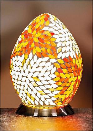 Colored Mosaic Egg Lamp