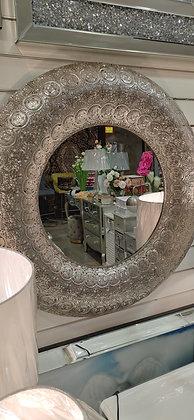 Marrakesh design round mirror