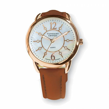 Infinity Rose Gold Watch