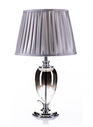 Smoked Glass Tall Lamp LK03