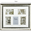 Thumbnail: Lucy collage frame champagne 5 4 x 6