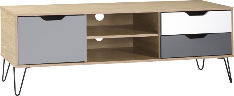 Bergen 1 Door/2 Drawer TV unit