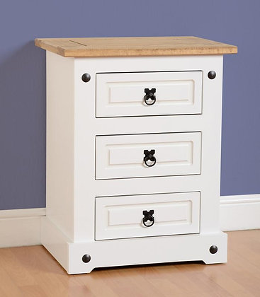 Bedside 3 Drawer