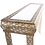 Thumbnail: Gold Console Table Glass Top