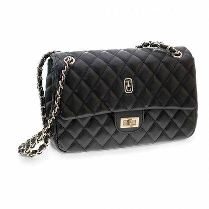 Quilted Shoulder Bag Palermo Black