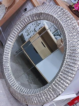 Silver Round border designer