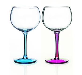Rainbow Gin Glass Set of 2