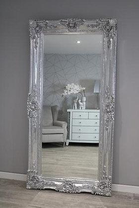 Large Paris Mirror Chrome/Champagne
