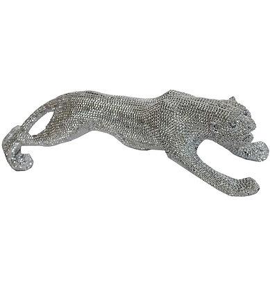 33'' Silver Panther Walking