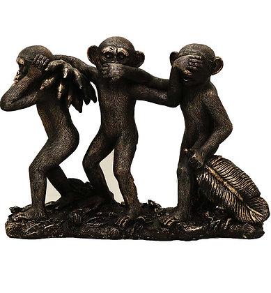 """9 """" Wise Monkeys-3"""