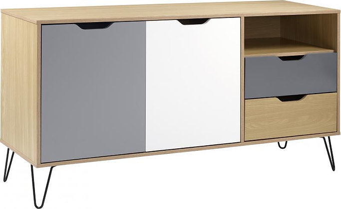 Bergen 2 door/ 2 drawer sideboard