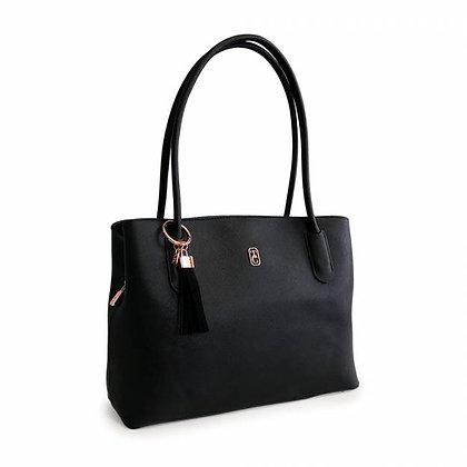 Capri Black Shoulder Bag