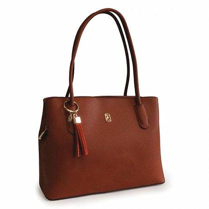 Capri Brown Shoulder Bag