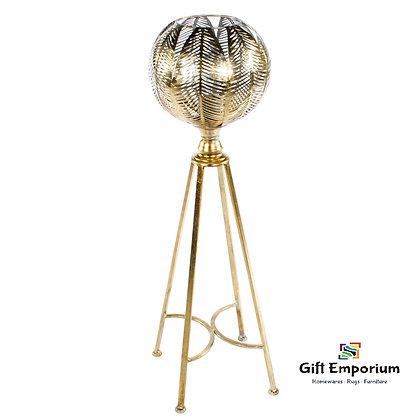 SYLVIA TRIPOD LAMP GOLD