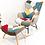 Thumbnail: Patchwork Rocking Chair (Stool Optional)
