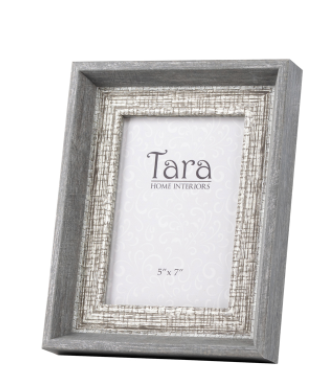Abigail photo frame grey 5x7