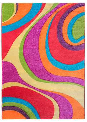 Candy Rug-Swirls Multicolourv