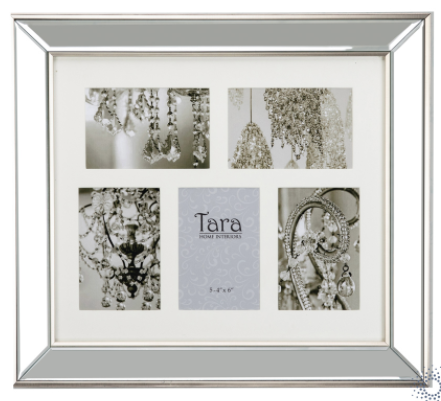 Florence photo frame antique collage 5 4x6